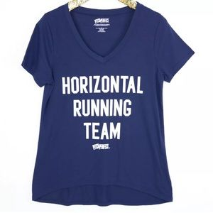 Pitch Perfect Horizontal Running Team Graphic Tee